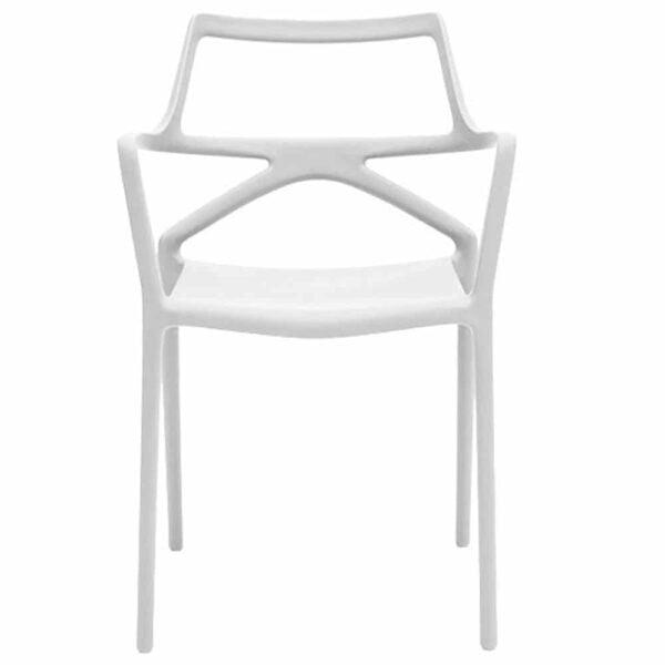chaise-terrasse-restaurant-blanche-empilables-design-delta