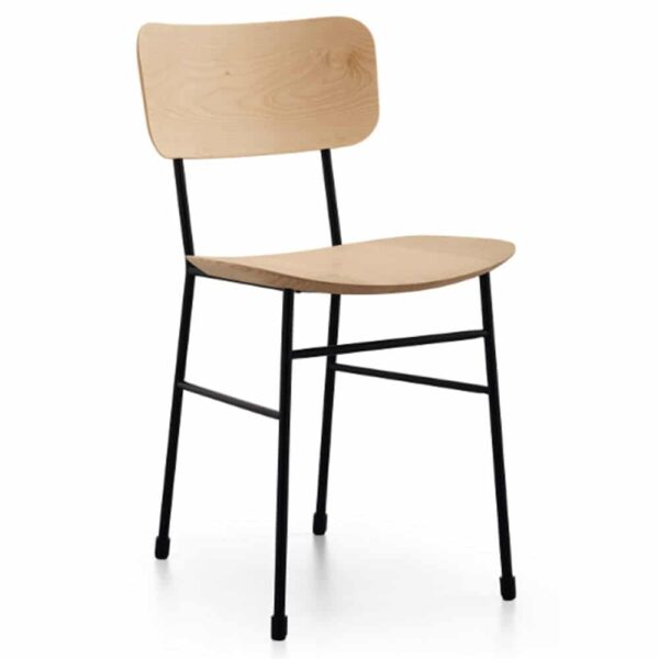 chaise-vintage-bois-restaurant-hotel-master-midj