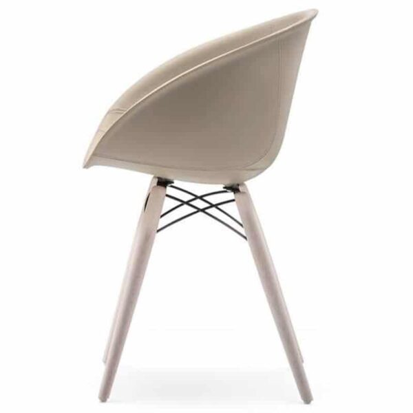 Fauteuil-bureau-cuir-design-GLISS-904-PEDRALI