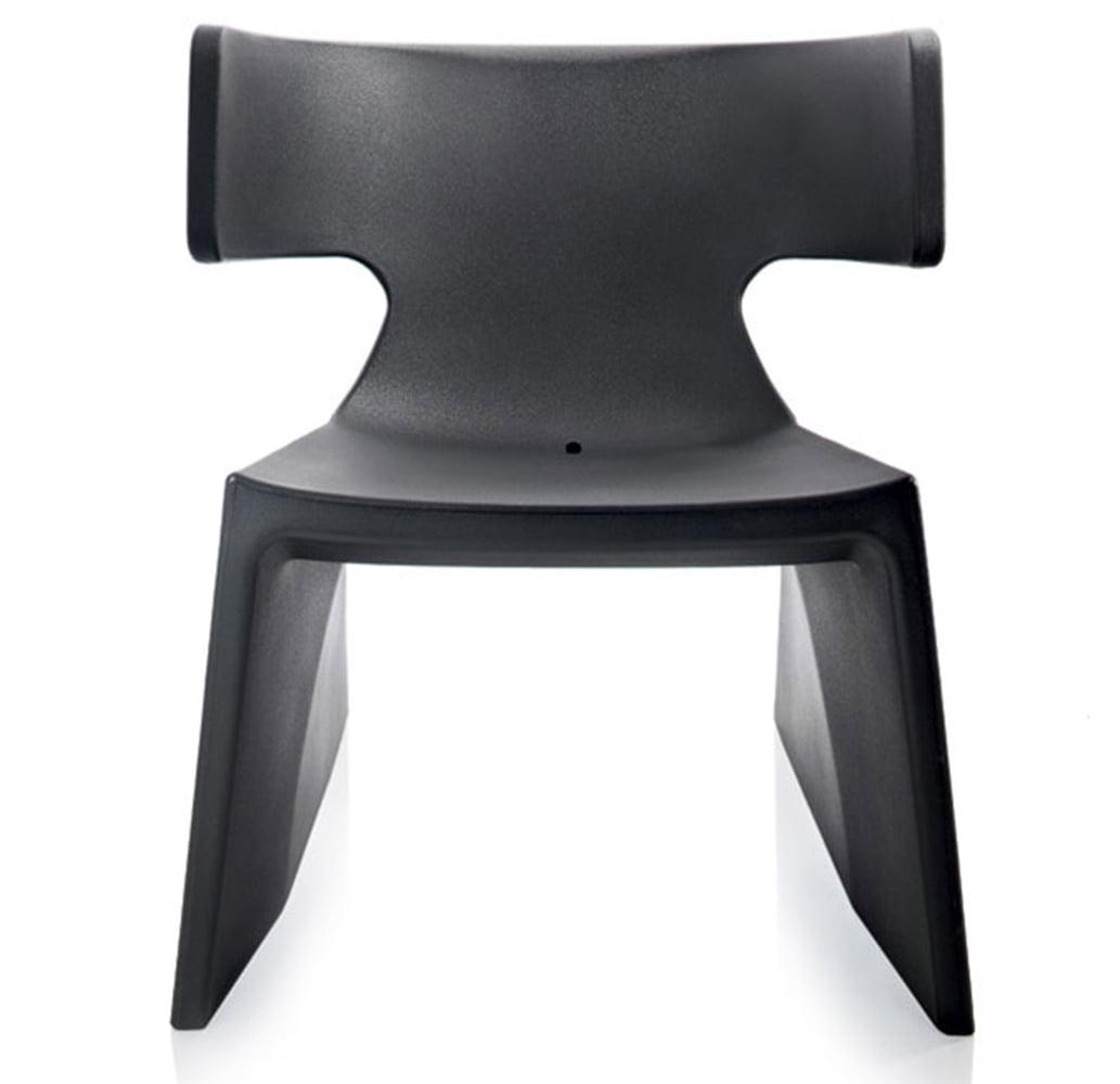 fauteuil-design-plastique-noir-monobloc-meg