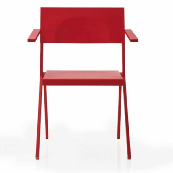 mobilier-luxe-hotellerie-fauteuil-terrasse-metal-rouge-design-mia-emu