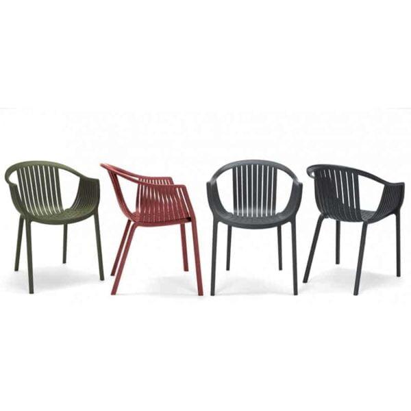 Pedrali-tatami-fauteuils