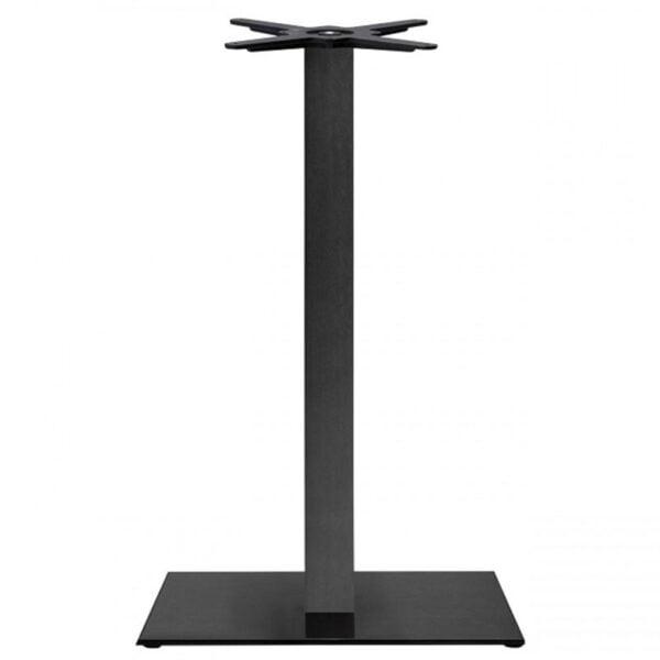 pied-de-table-mange-debout-noir-fonte-B25-scab