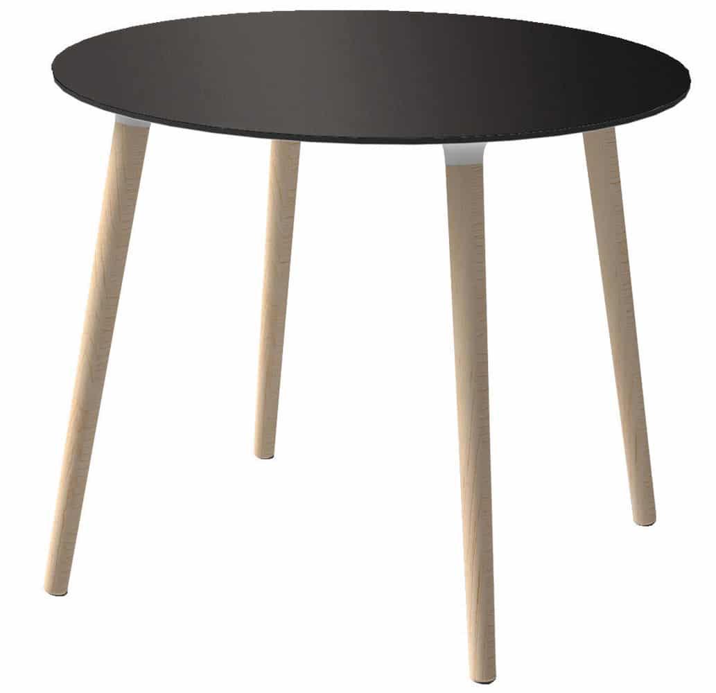 table-ronde-restaurant-4-pieds-bois-stefano-gaber