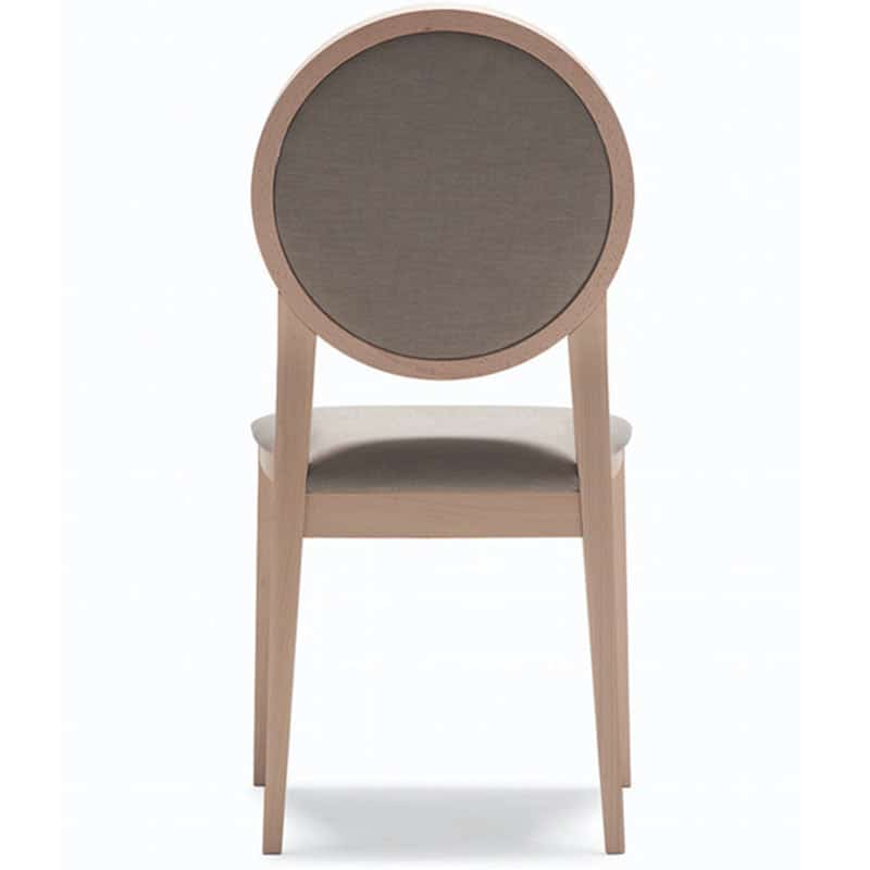 mobilier chr design chaises en tissu et bois naturel professionnelle