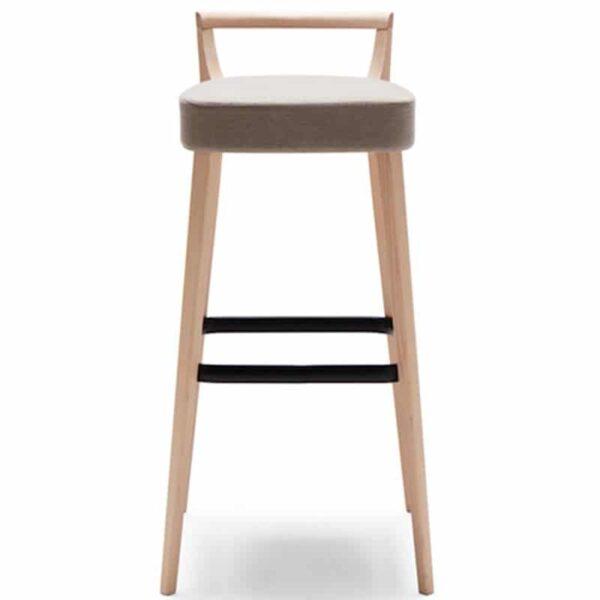 tabouret bar confort assise tissu pour professionnel chr metro 161