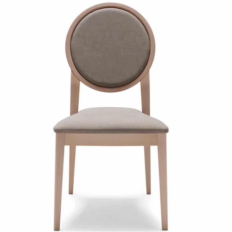 mobilier hôtellerie restaurant chaise tissu bois naturel 186