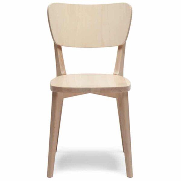 mobilier vintage pour restaurant chaise classique bistro bois capitol