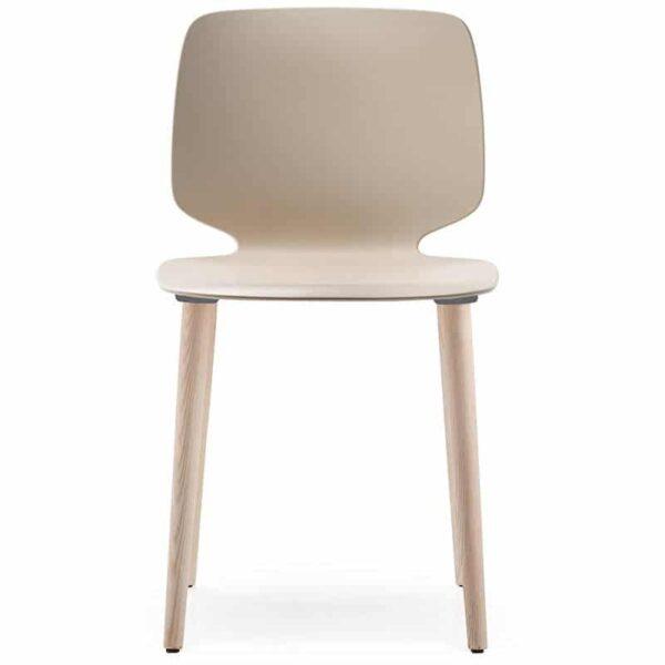 chaise-design-restaurant-bois-et-polymere-Babila-2750-pedrali