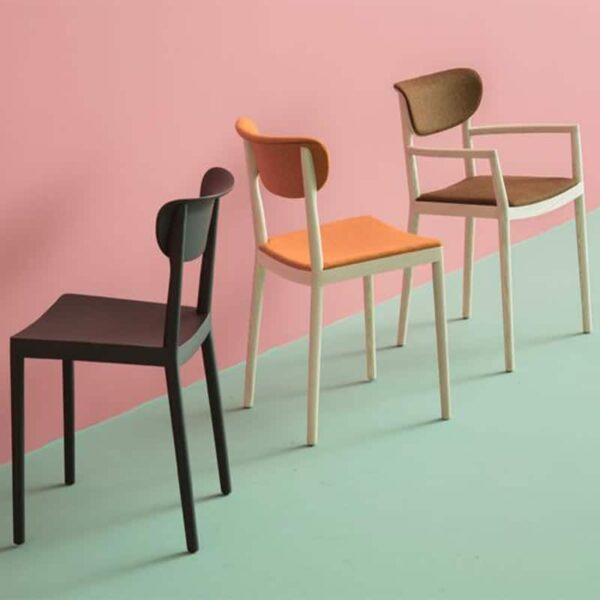 chaise-luxe-restaurant-bois-noir-tivoli-pedrali