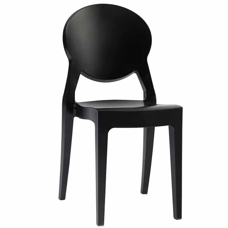 chaise-restaurant-noir-dossier-medaillon-igloo-scab