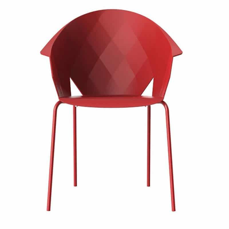 chaise-restaurant-rouge-design-empilable-vases-vondom