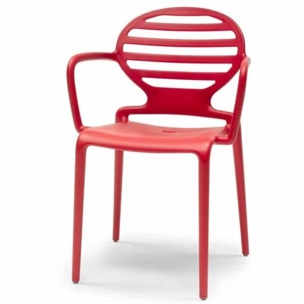fauteuil-accoudoirs-terrasse-bar-restaurant-empilable-rouge-cokka-scab
