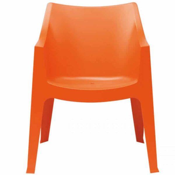 fauteuil-accueil-collectivite-empilable-monobloc-orange-cocco-scab