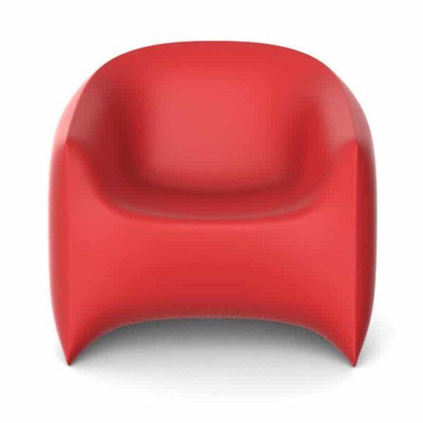 Fauteuil-design-plastique-rouge-terrasse-hotel-Blow-vondom
