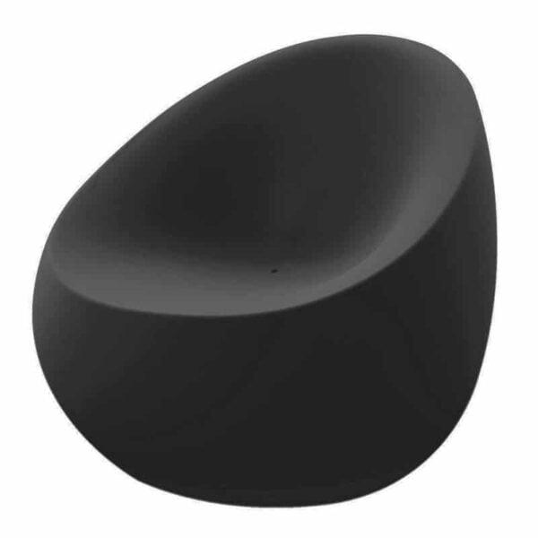 fauteuil-exterieur-design-noir-stone-vondom