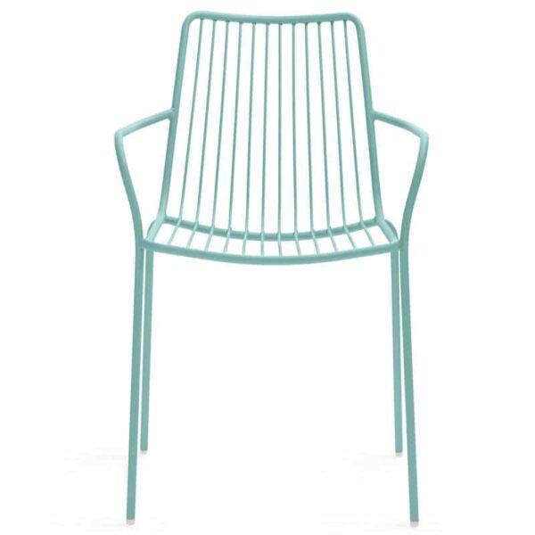 fauteuil-terrasse-restaurants-empilable-bleu-nolita-pedrali