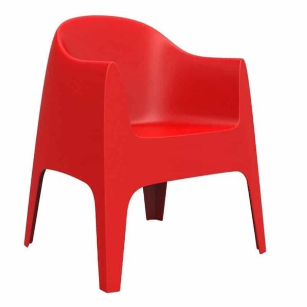 mobilier-chr-fauteuil-terrasse-rouge-moderne-solid-vondom