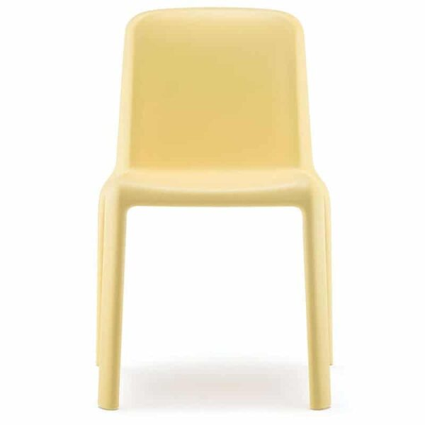 mobilier-collectivite-enfant-chaise-plastique-jaune-snow-pedrali