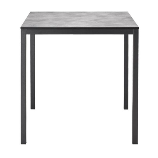 mobilier-collectivite-table-carree-4-pieds-gris-beton--mirto-scab