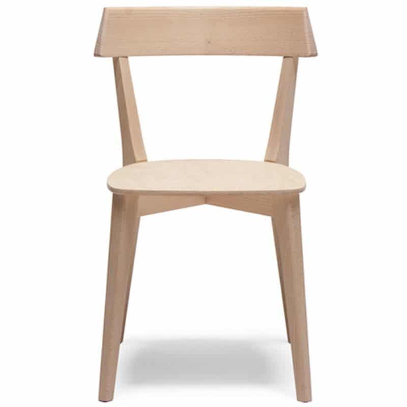 chaise bois moderne pour restaurant ariston