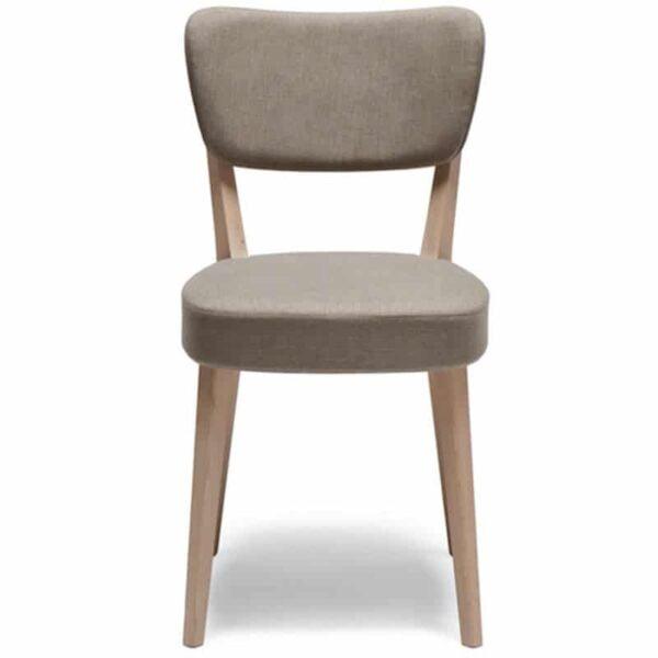 mobilier pour les chr chaise tissu et bois design et confortables capitol soft