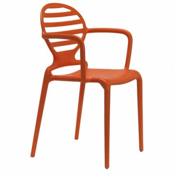 mobilier-special-collectivite-fauteuil-empilable-orange-plastique-original-cokka-scab