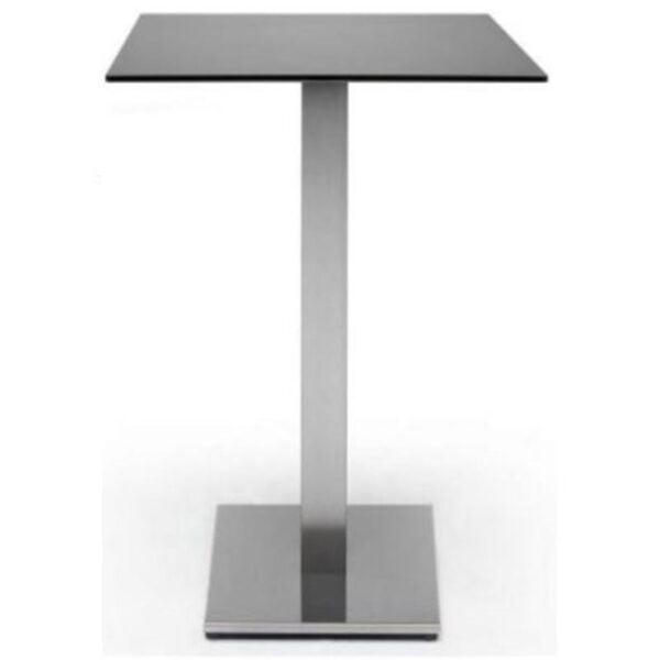 Table-mange-debout-plateau-compact-gris-pied-inox-tif-scab