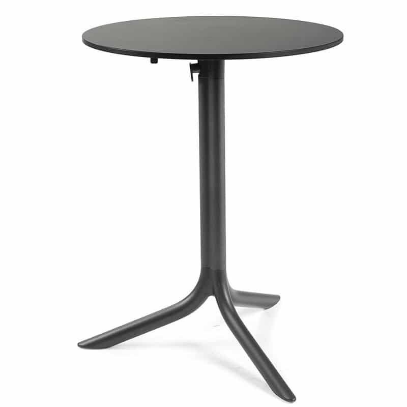 table-pliante-ronde-terrasse-bar-restaurant-noire-flute-nardi