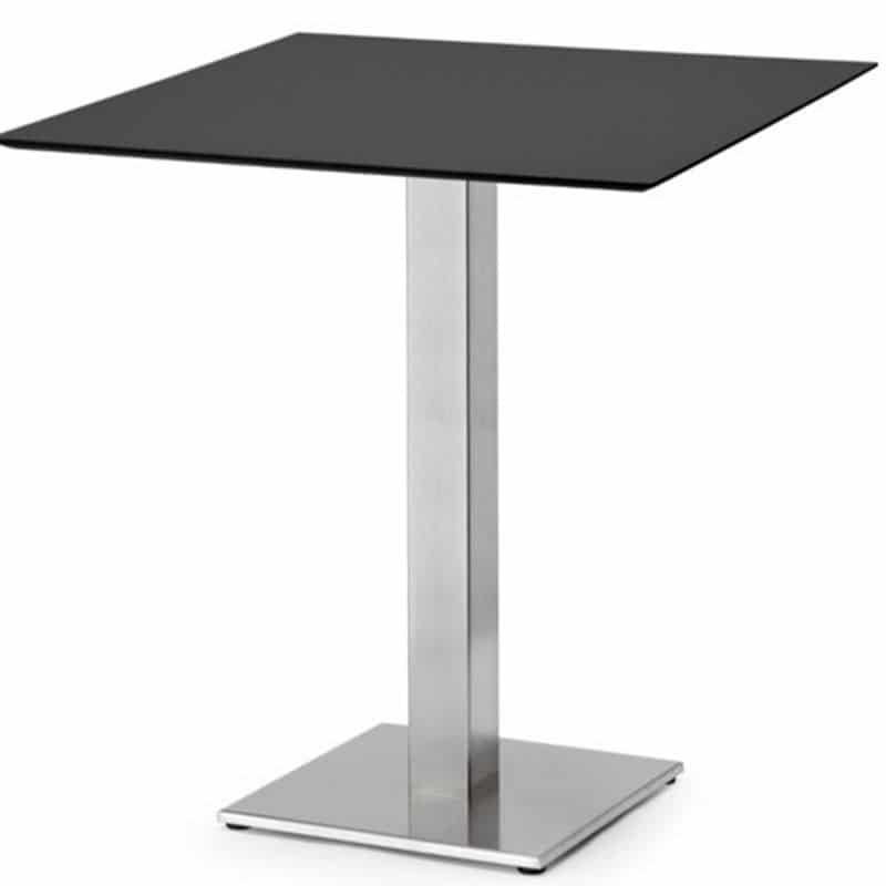 table-restaurant-design-plateau-gris-pieds-inox-tiffany-base-scab