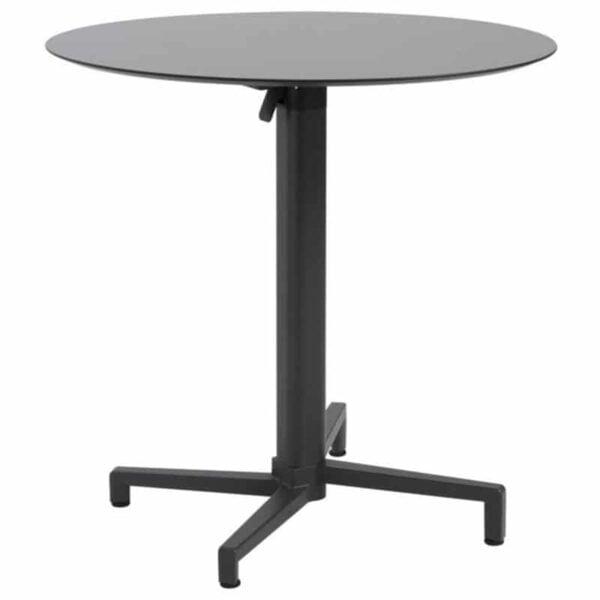 Table-ronde-pliante-noire-restaurant-domino-51