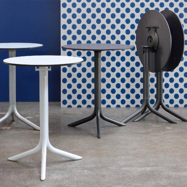 tables-terrasse-chr-rondes-pliantes-design-flute-nardi