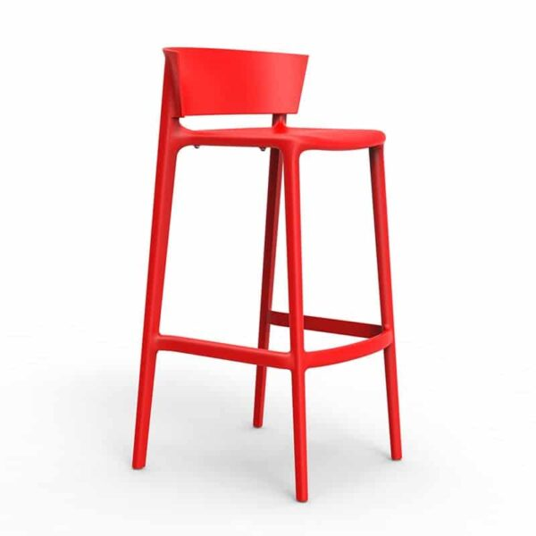 tabouret-bar-terrasse-rouge-empilable-africa-vondom