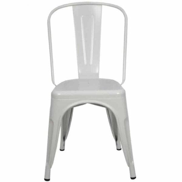chaise-vintage-restaurant-acier-blanc-empilable-tuly