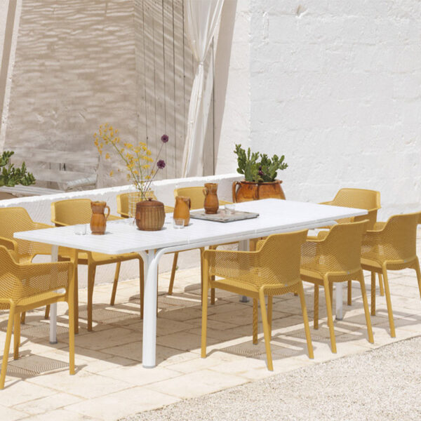 mobilier-exteireur-hotellerie-fauteuils-design-jaune-safran-net-nardi