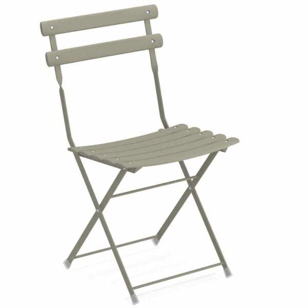 chaise-bistro-acier-verni-pliante-arc-en-ciel-emu