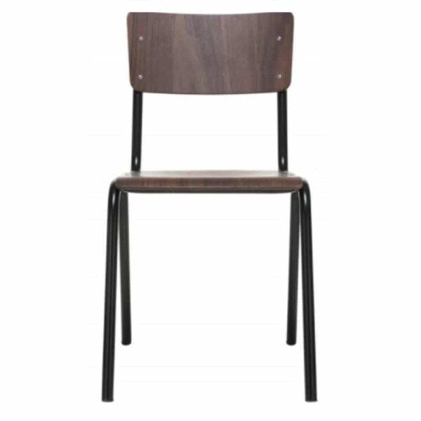 chaise-vintage-restaurant-bois-industriel-zero-jankurtz