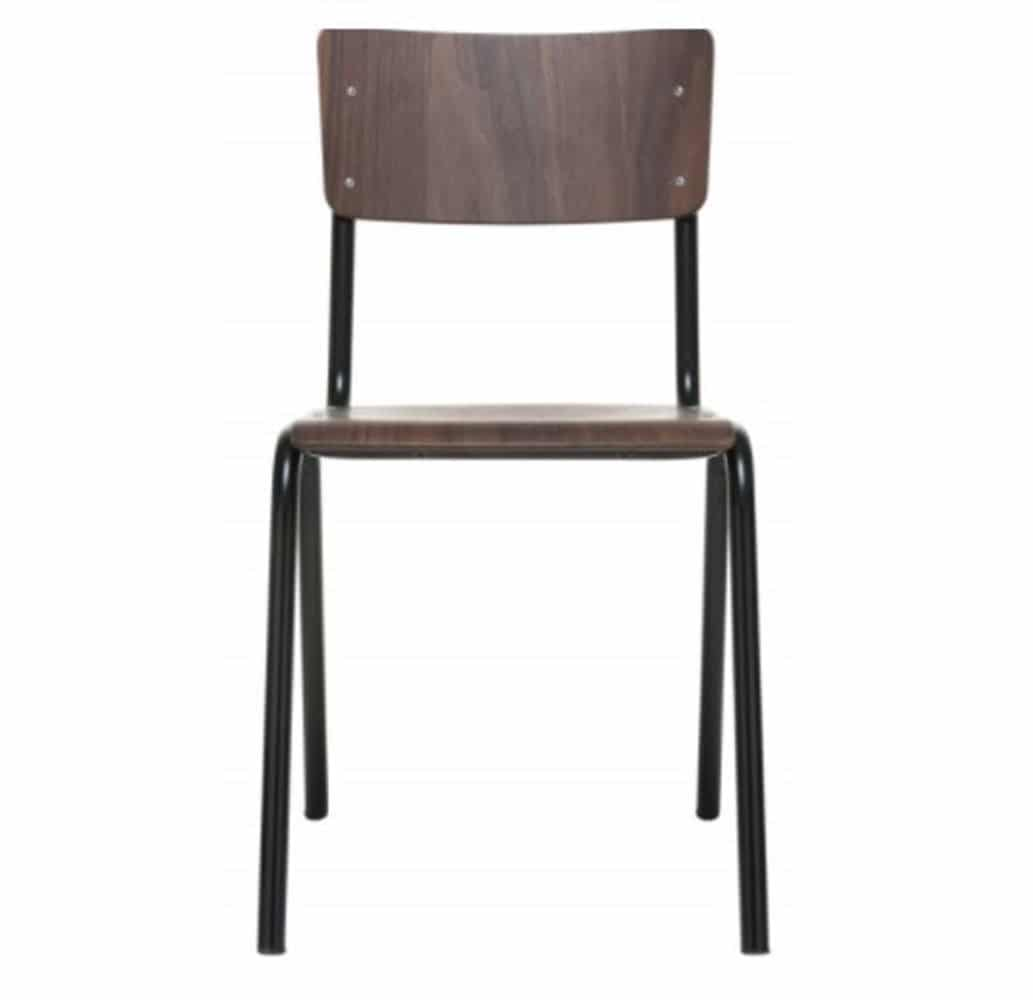 Chaise Bois Et Metal Industriel chaise zero