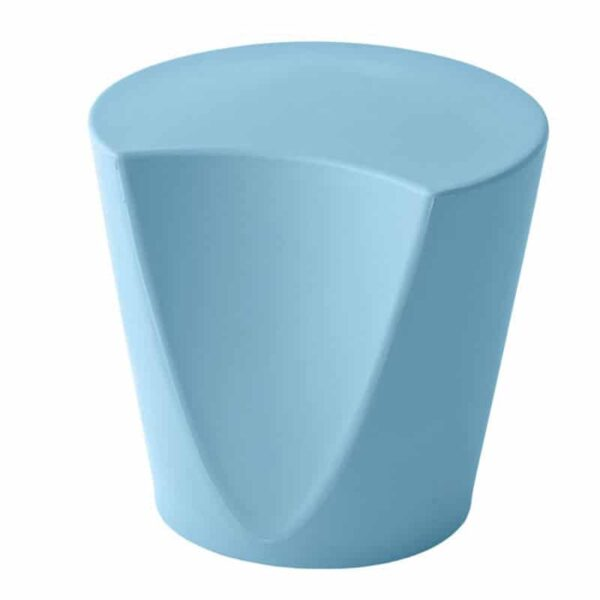 mobilier-accueil-pouf-plastique-design-monobloc-bleu-apple-metalmobil
