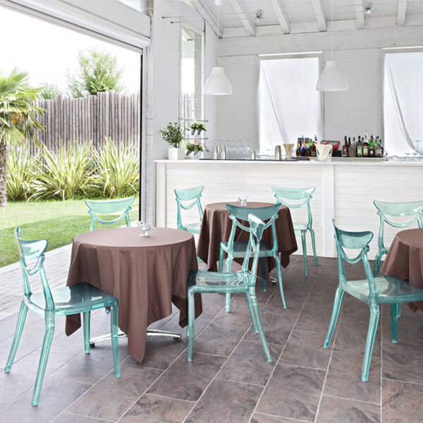 Chaise Restaurant Hôtel Boutique Mobilier Marlene Translucide Bar QhdCtrxBso