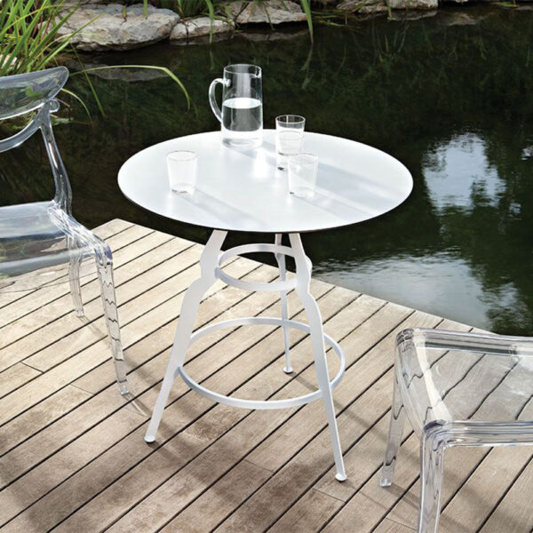mobilier-design-chr-table-ronde-metal-blanche-bistro-alma-design