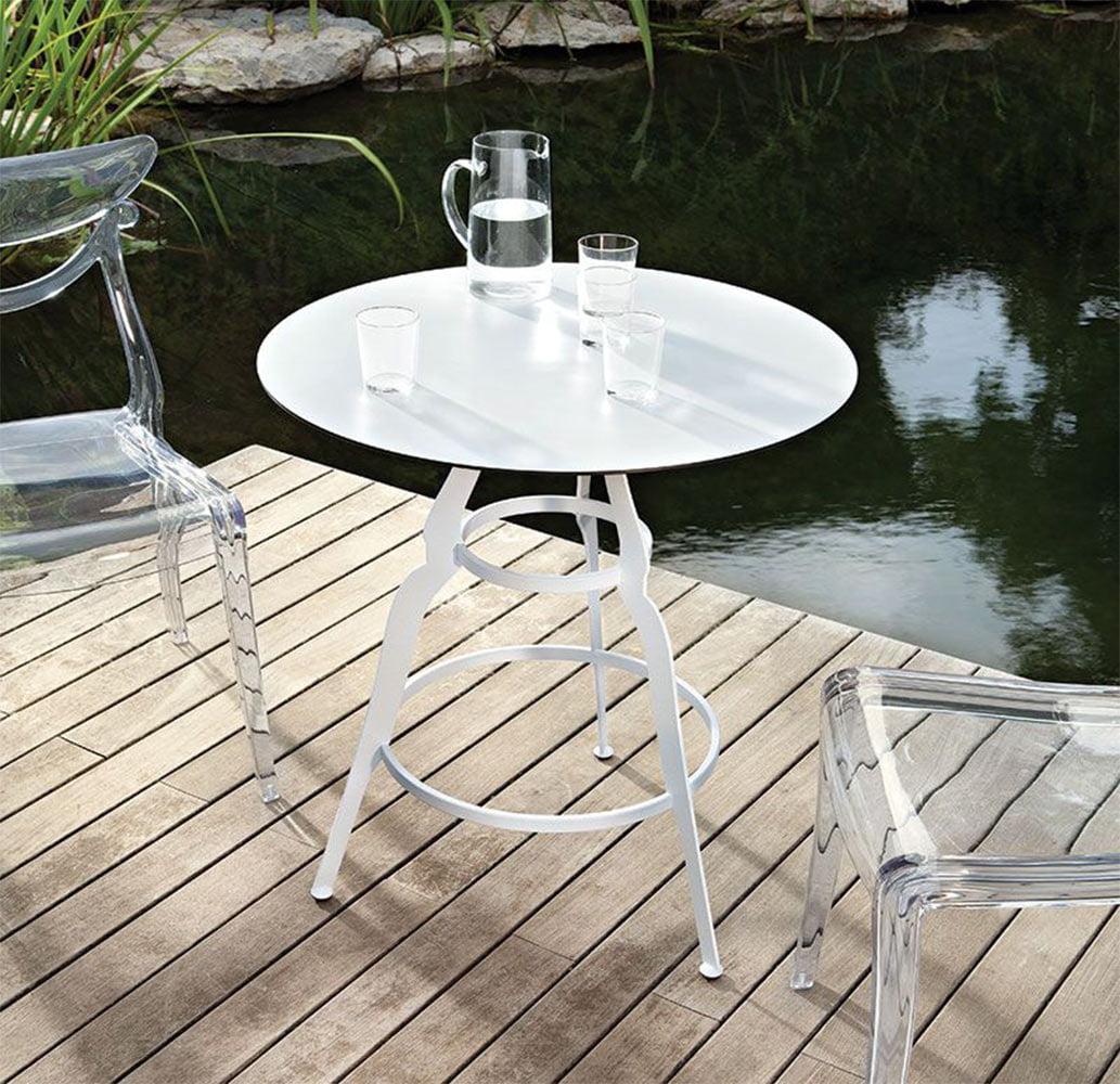 mobilier-design-chr-table-ronde-metal-blanche-bistro-alma-design