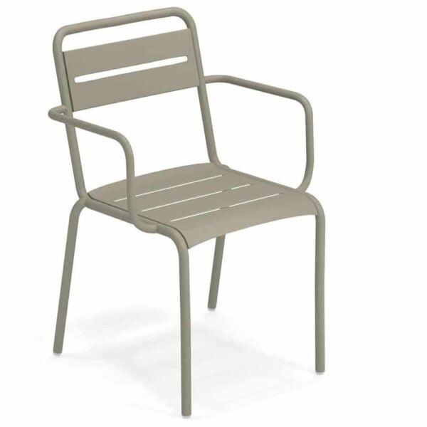 mobilier-exterieur-hotellerie-fauteuil-metal-empilable-star-emu