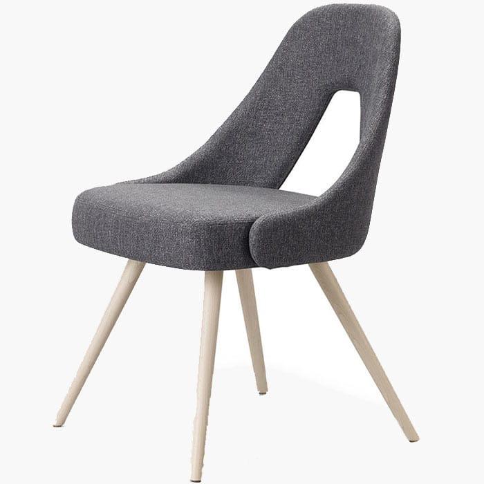 mobilier-hotellerie-restauration-chaise-tissu-haut-de-gamme-me-scab-grise