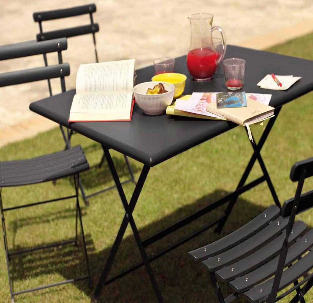 table-hotellerie-exterieur-acier-noir-pliable-arc-en-ciel-emu