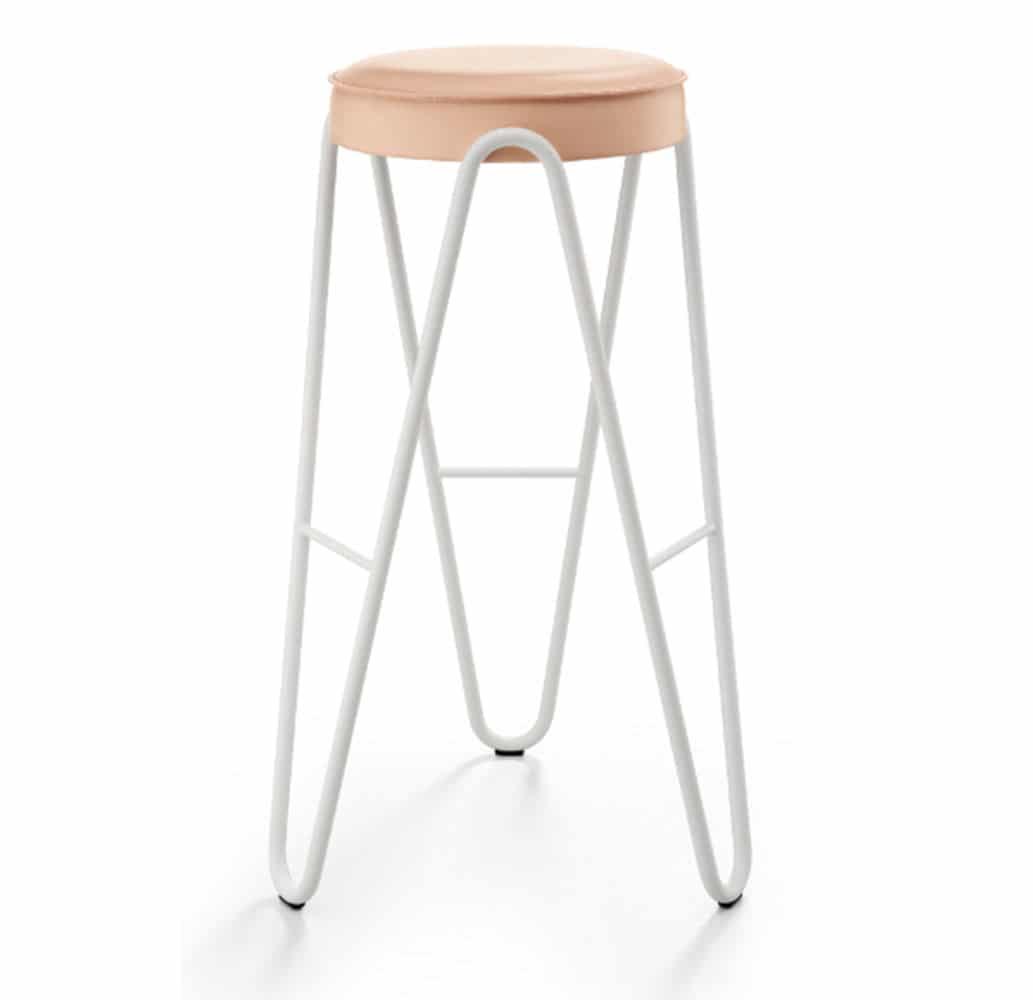 Tabouret-bar-design-cuir-rose-mobilier-pro-apelle-jump-midj