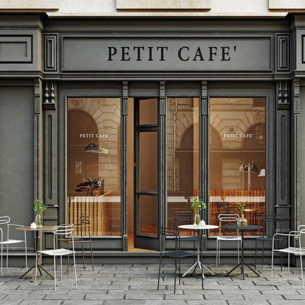 agencement-terrasse-restaurant-table-acier-noire-line-infiniti