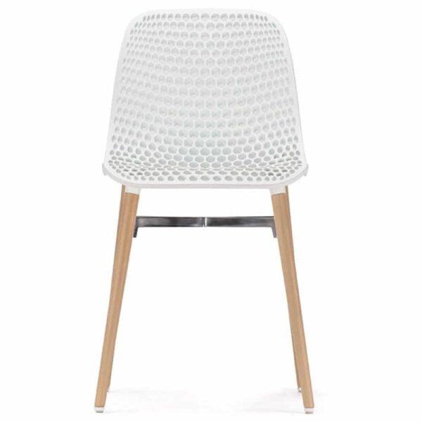 chaise-restaurant-design-blanche-pied-bois-next-infiniti-design