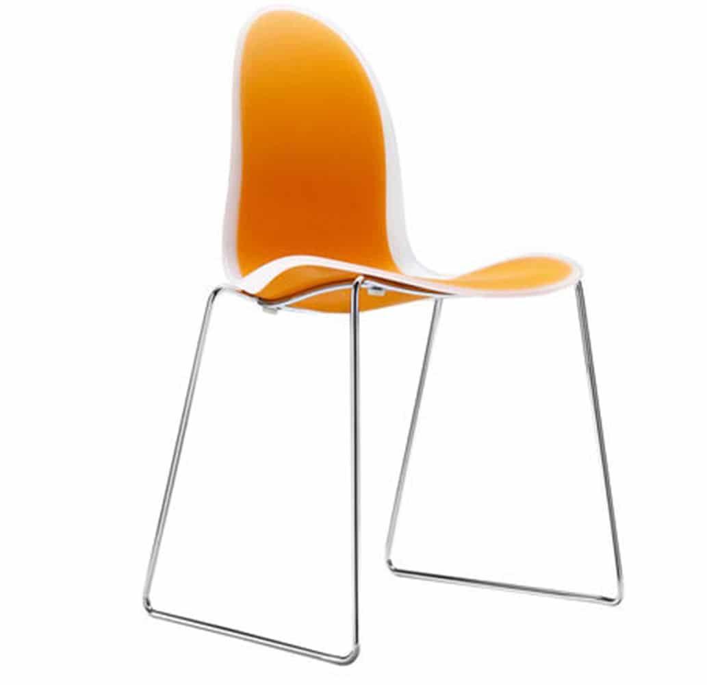 chaise-salle-attente-design-orange-mobilier-professionnel-parri