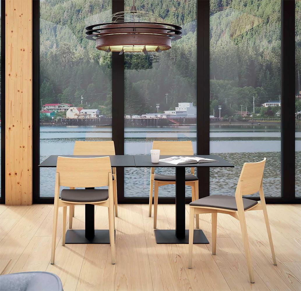 mobilier-chr-tables-design-noires-carrees-acier-plano-infiniti-design